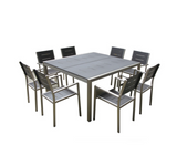 Monaco 9-Piece Square Dining Set