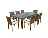 Cozumel 9-Piece Dining Set