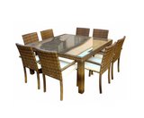 Ios 9-Piece Square Dining Set