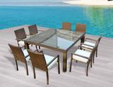 Ios 9-Piece Square Dining Set