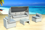 Sitges 4-Piece Sectional - Pearl
