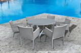 Parisia 7 Piece Round Dining Set