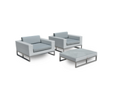 Marseille Arm Chairs - Pearl