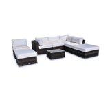 Vilano 8-Piece Sectional - Gold