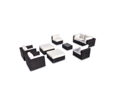 Vilano 9 Piece Sectional Set