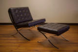 Barcelona Chair w/ Ottoman
