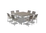 Medici 9-Piece Square Table