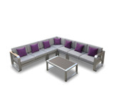 6-Pc Fairy Outdoor Sofa Sectional Set