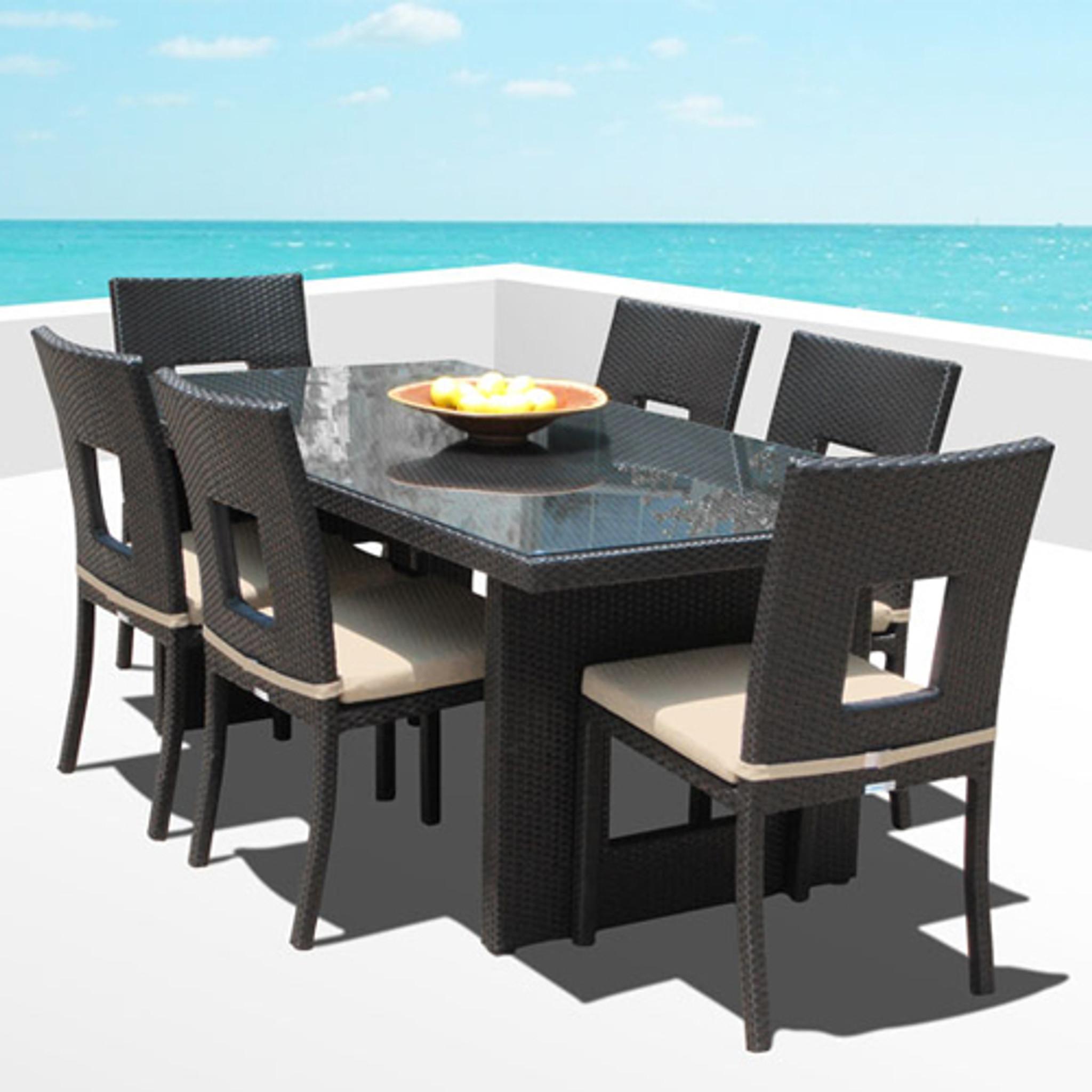 Fantastic Nicole 7 Piece Dining Set Inzonedesignstudio Interior Chair Design Inzonedesignstudiocom