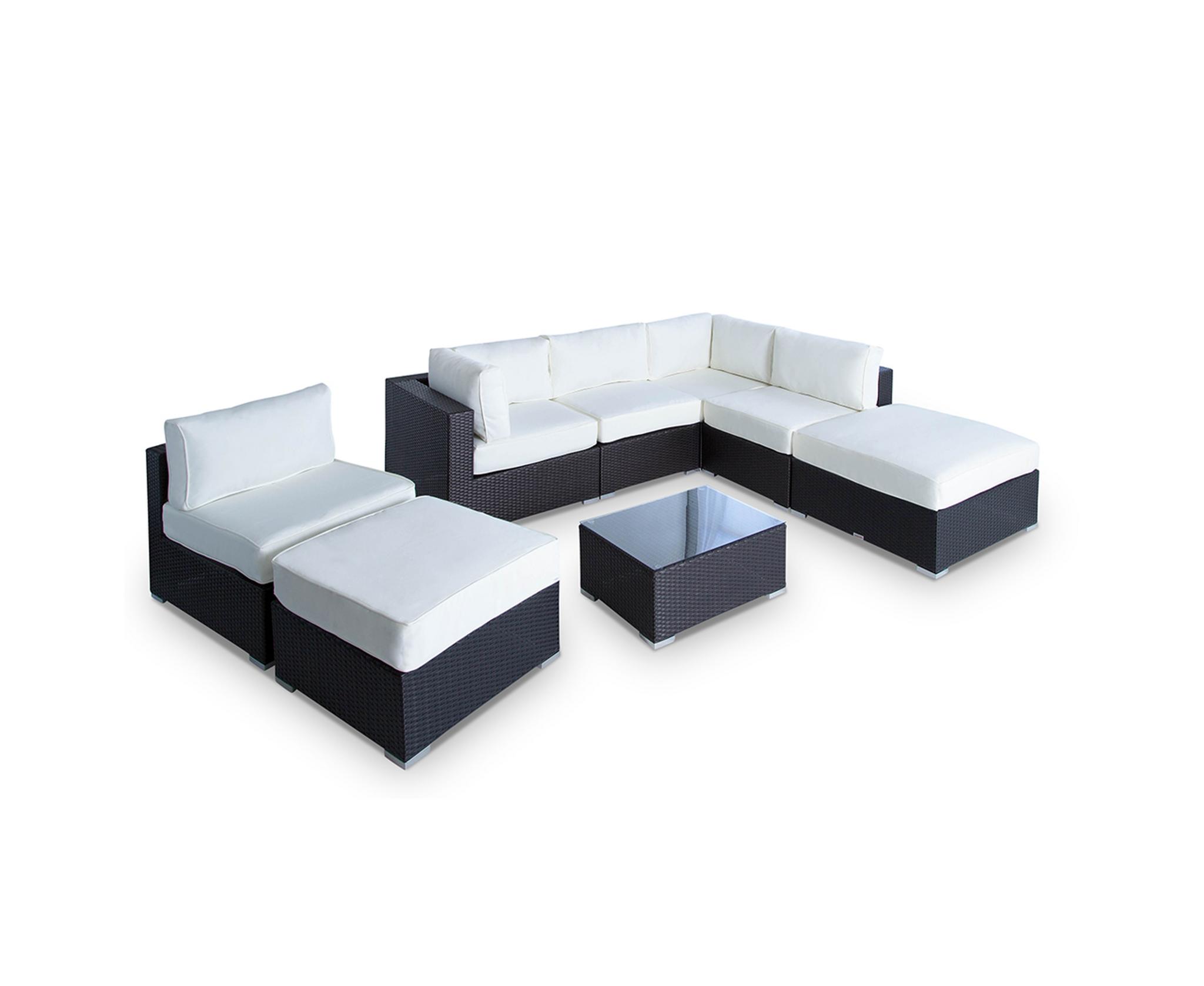 Fine Vilano 8 Piece Sectional Customarchery Wood Chair Design Ideas Customarcherynet