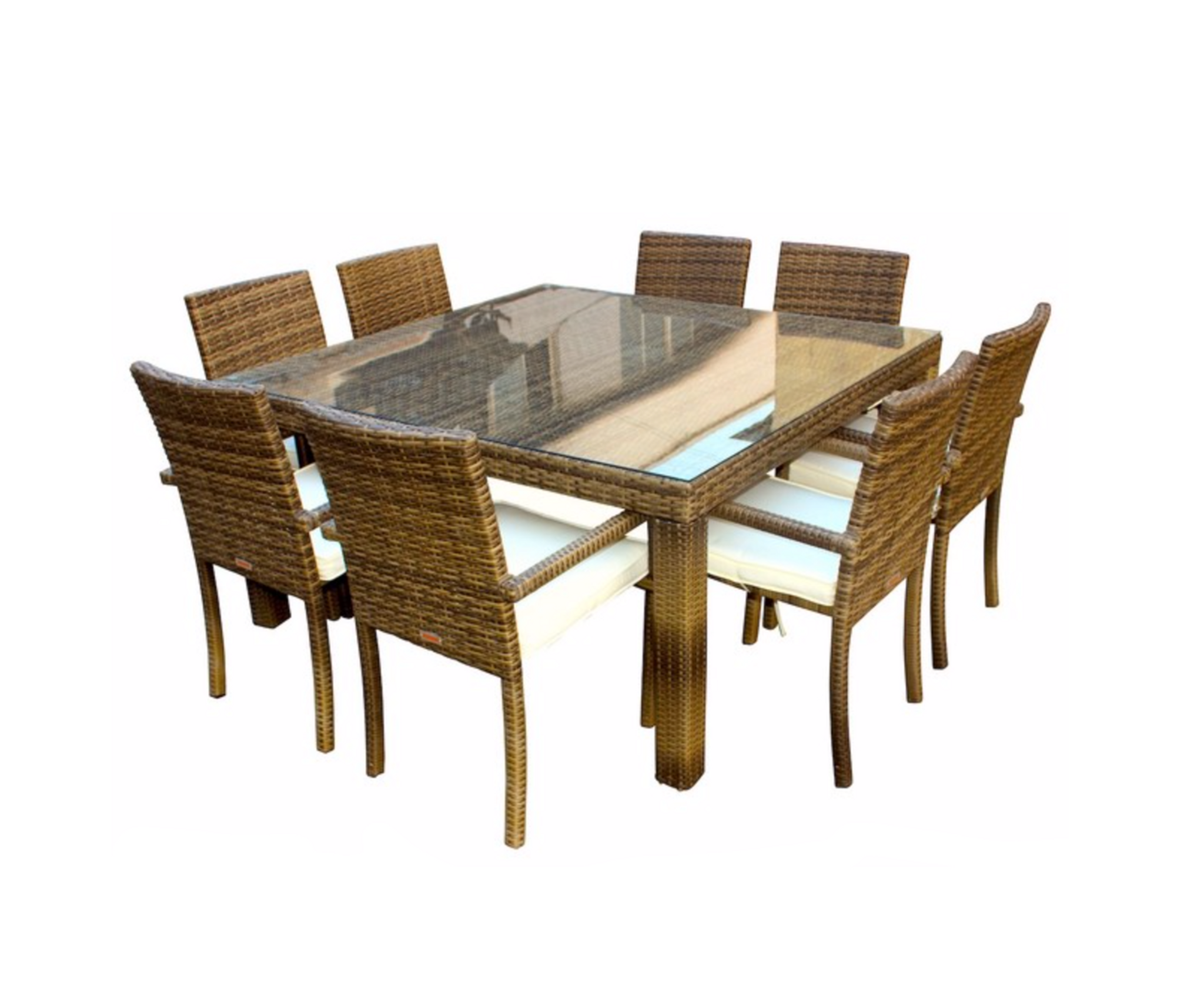 Ios 9 Piece Square Dining Set