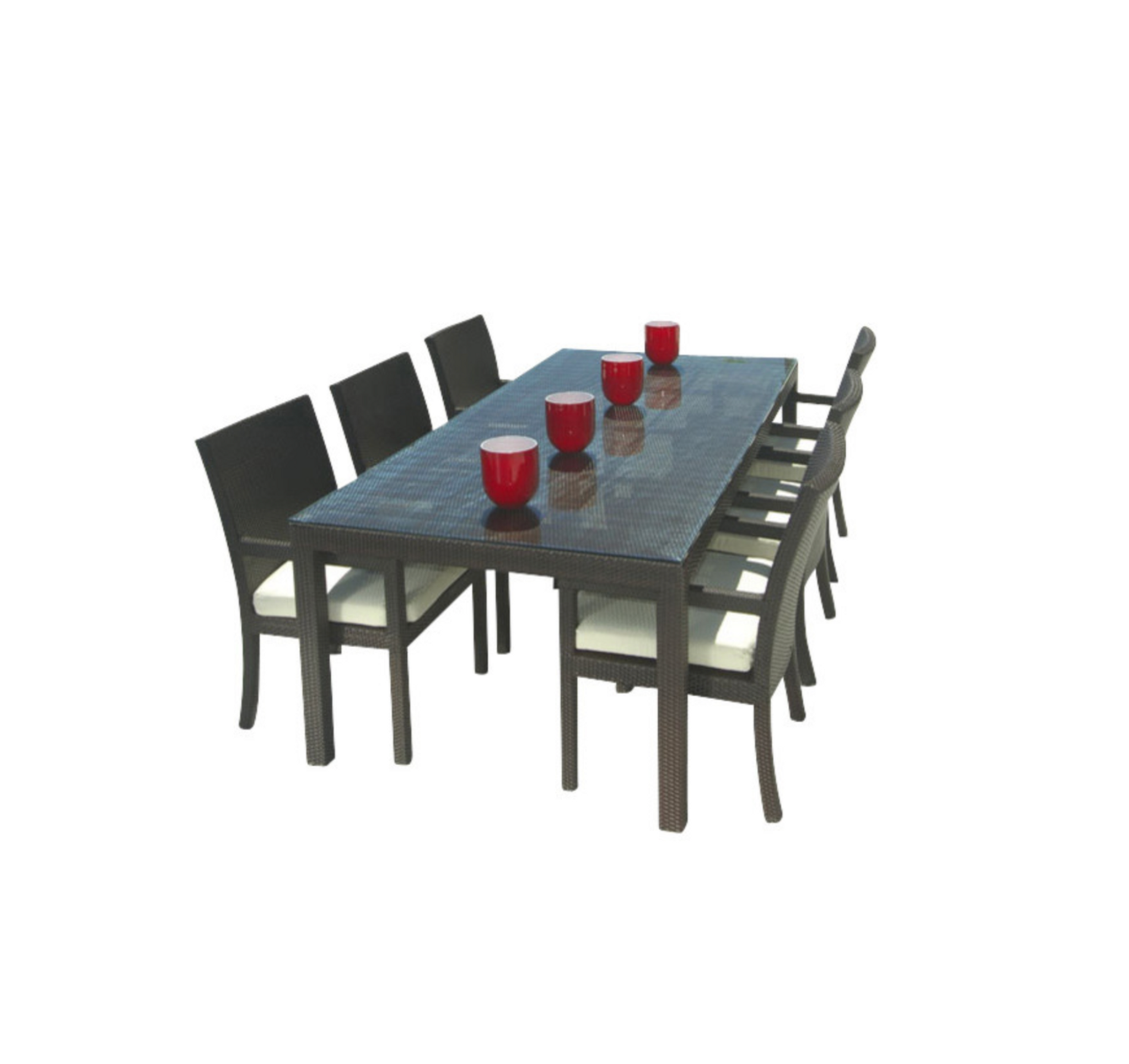 Outstanding Cozumel 7 Piece Dining Set Inzonedesignstudio Interior Chair Design Inzonedesignstudiocom