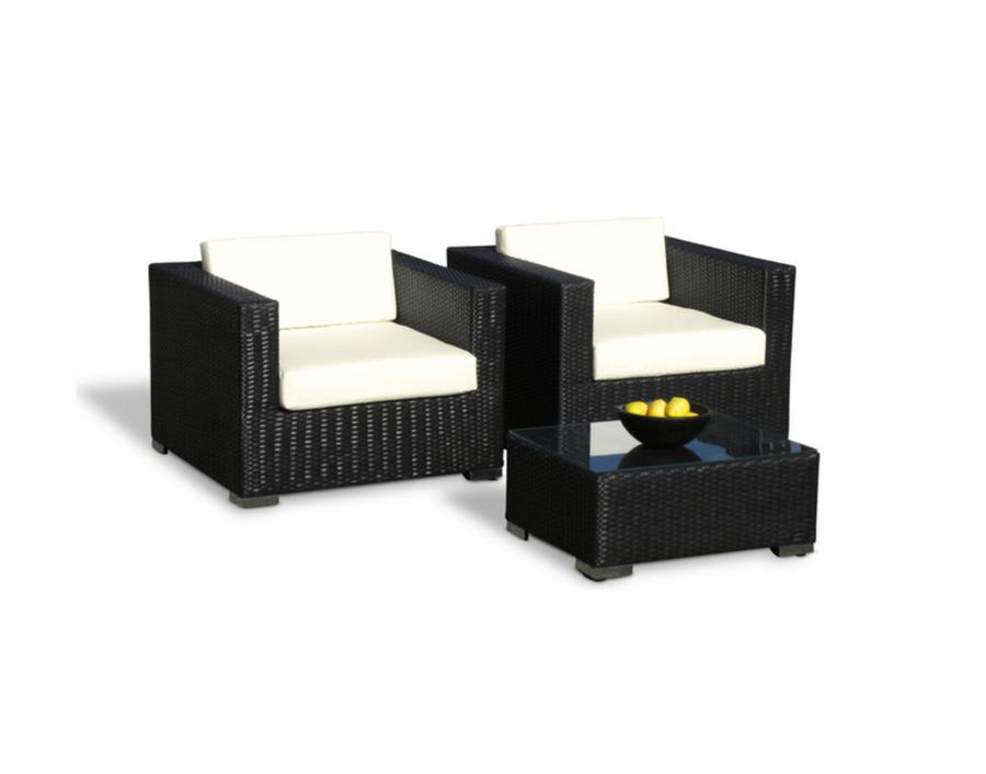Vilano Arm Chairs - Espresso
