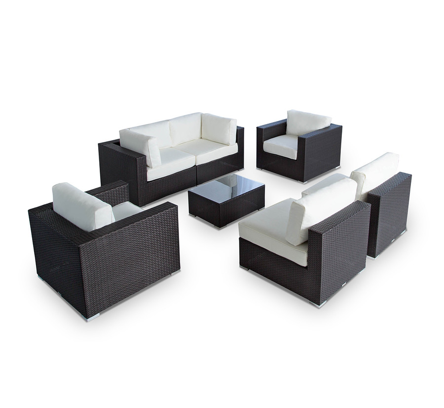 Vilano 7-Piece Sectional Sofa Set