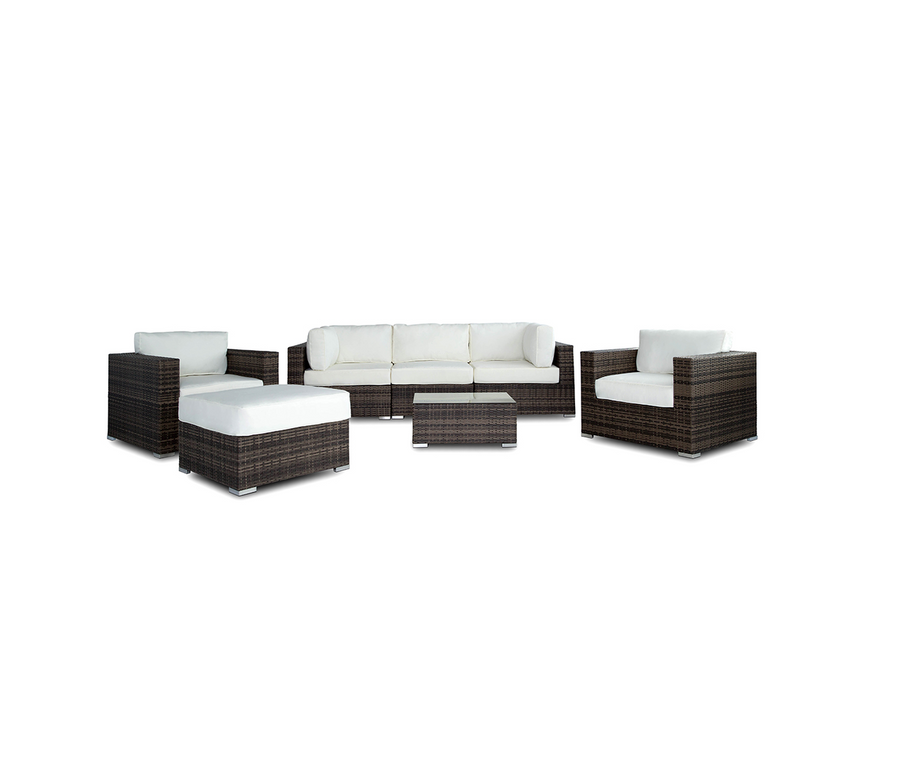 Vilano 7-Piece Sectional - Gold