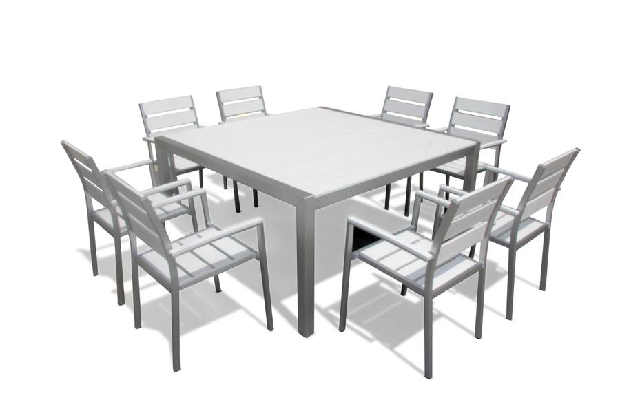 Torino 9-Piece Square Dining Set