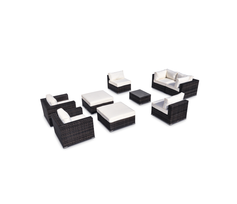 Vilano 9 Piece Sectional Set