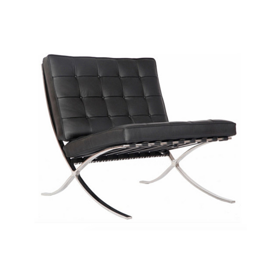 Barcelona Chair - Black