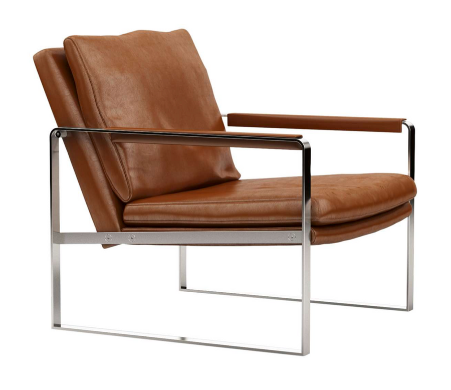 Harvey Arm Chair - Saddle