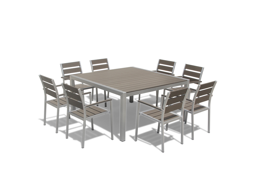 Medici 9-Piece Square Table