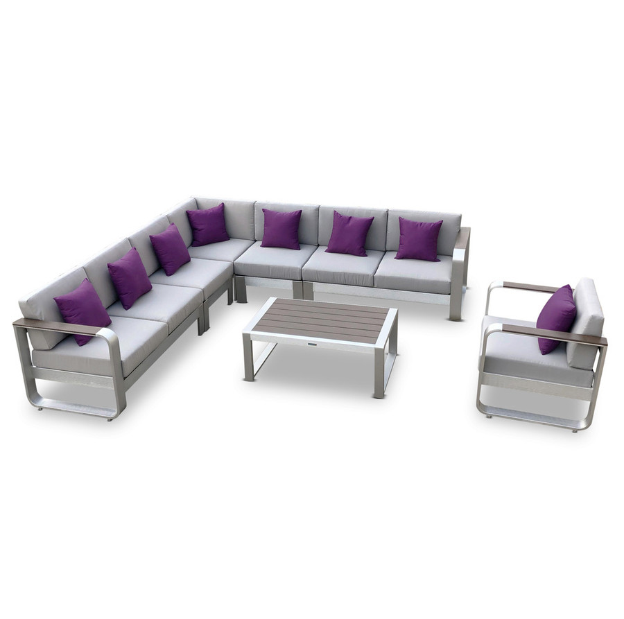 7-Pc Fairy Outdoor Sofa Sectional Set