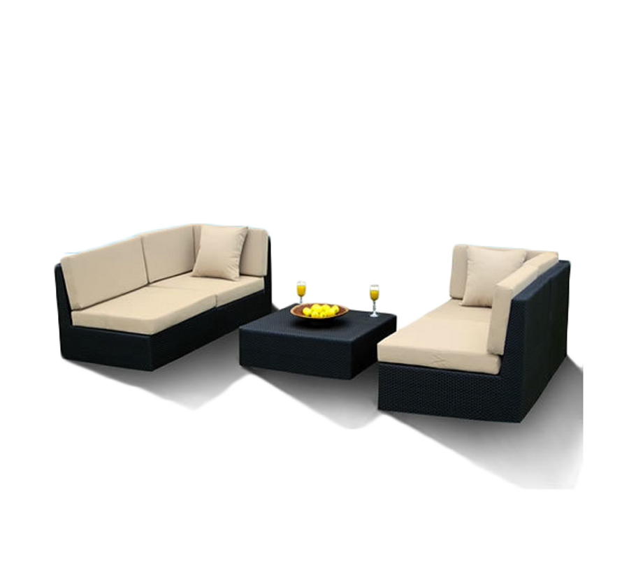 Vilano 5-Piece Double Sofa Set
