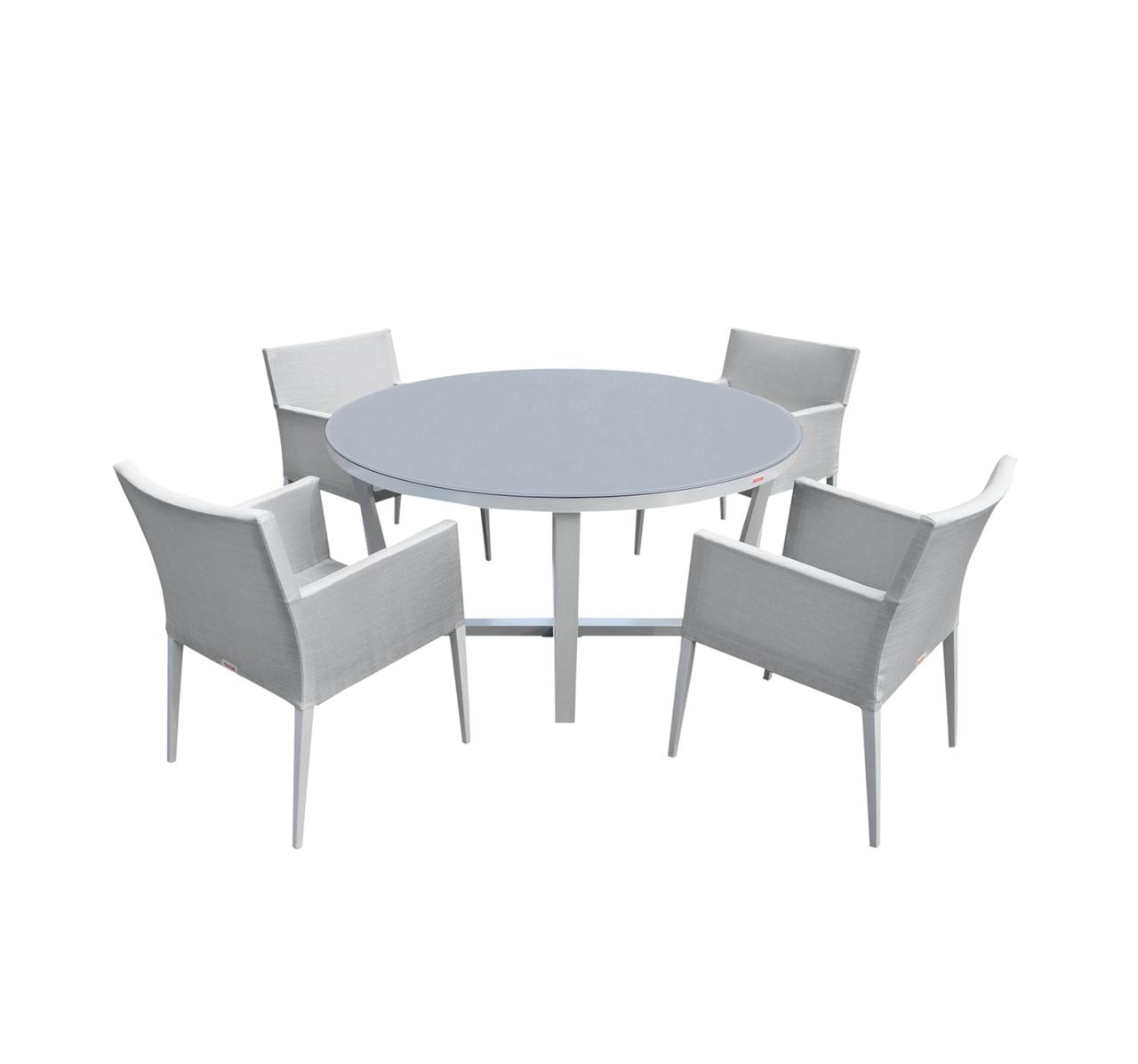5 Pc Round Dining Table Set I Shop Now I Mangohome
