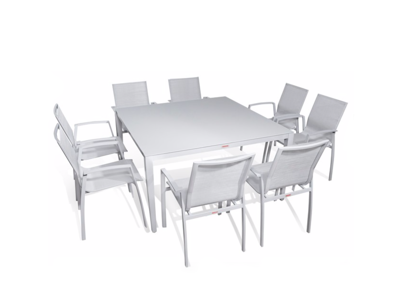 9 Pc Square Dining Table Set I Shop Now I Mangohome