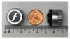 The sensor is as small as the diameter of the penny and weighs only 7.6 gram with CR1632 battery inclusive.