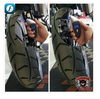 WHICH TIRE IS UNDER-INFLATED? Can you tell with naked eyes which tire below is under-inflated? A tire can be under-inflated by as much as 20 per cent and still look fine. For a safe ride, it is important not to eyeball or guess if tires have enough air. With FOBO Bike, you will be alerted the moment you get in Bluetooth range with the tires if the pressure has dropped below the thresholds you set. You can also view the tire pressure on your smartphone or smart watch without bending your knees or getting your hands dirty or even when you are riding.