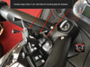 Can-Am Spyder Ram mount with Large X-Grip for ST and 2013-16 RS (LG-1085-UN10B) by Lamonster
