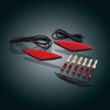 Show Chrome LED Marker Light (RT/F3T Saddle Bags)(WITH LAMONSTER PLUG & PLAY KIT for RT models ONLY) (SC-41-161R) Every Thing You See Here Is Included In This Kit.