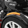 Show Chrome® Front Fender LED Reflectors Next Gen. (Top of Fender)(with Lamonster RT plug & play kit) (SC-RT-41-173A)