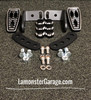 F3 Black Dymond Gripper Highway Brackets - Pegs (LG-1096-1075)