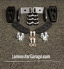 F3 Black Dymond Gripper Highway Brackets - Pegs (LG-1096-1075B)
