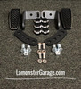 F3 Black Dymond Gripper Highway Brackets - Pegs (LG-1096-1029)