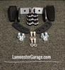 F3 Black Dymond Gripper Highway Brackets - Pegs (LG-1096-1029B)