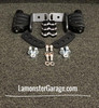F3 Black Dymond Gripper Highway Brackets - Pegs (LG-1096-7567)