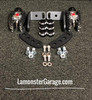 F3 Black Dymond Gripper Highway Brackets - Pegs (LG-1096-4492)