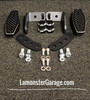 F3 Black Dymond Gripper Highway Brackets - Pegs (LG-1096-1076) (ACCENT CUT)