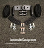 F3 Black Dymond Gripper Highway Brackets - Pegs (LG-1096-1076B) (BLACK)