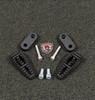 Lamonster Stock Cap Third Pegs. 3rd Pegs. Gripper Black Pegs. LG-1060-1075B