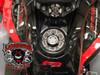 Lamonster IPS F3 Keyless Fuel Cap Assembly (LG-1095A) Fits all Can-Am Spyder F3 Models. F3, F3-S, F3-T, F3-LTD Finish: Accent Cut