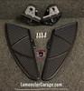 Can-Am Spyder F3 Black Dymond Gripper Floorboards (OEM Peg Mount Only) (LG-1081B) Finish: All Black #BlackDymond #Lamonster #LamonsterGarage
