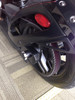 Can Am Spyder IPS rear axle caps (LG-1020) by Lamonster IPS Axle Cap on Can Am Spyder RS