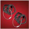 Big Bike Parts® Black Spyder Key Cover (Pair) (SC-41-182BK) Lamonster Approved Fits ALL Can-Am Spyder KeysBlack Spyder Key Cover (Pair) (SC-41-182BK) Lamonster Approved Fits ALL Can-Am Spyder Keys
