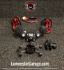 Monster Mount 2.0 with Dual Power Plates (LG-3020-UN7B) by Lamonster Fits ALL Can-Am Spyder F3 & RT Models Including the Limited.
