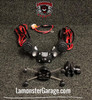 Monster Mount 2.0 with Dual Power Plates (LG-3020-UN10B) by Lamonster Fits ALL Can-Am Spyder F3 & RT Models Including the Limited.