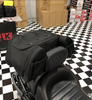 Kuryakyn Momentum Hitchhiker Trunk Rack Bag (KYN-5281) Lamonster Approved Shown on an F3-S.