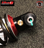 REBOUND DAMPING Controls the speed at which the shock absorber returns to its fully extended position after being compressed, keeping the wheels on the ground for maximum traction and reducing the recoil effect caused by the spring pressure pushing back after being compressed.  To use, turn the adjuster clockwise to slow down the rebound or turn counter-clockwise to speed up the rebound.  Stage 2 Elka Shock (Rear) Can Am Spyder RT / RT-S / RT-LTD (ELKA-REAR-RT) Lamonster Approved